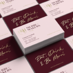 6 Tips for an Effective Business Card Design